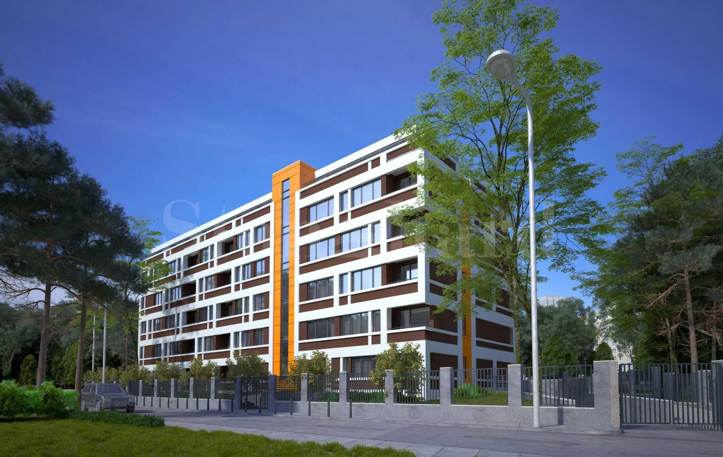Нова сграда с комуникативна локация в кв.
