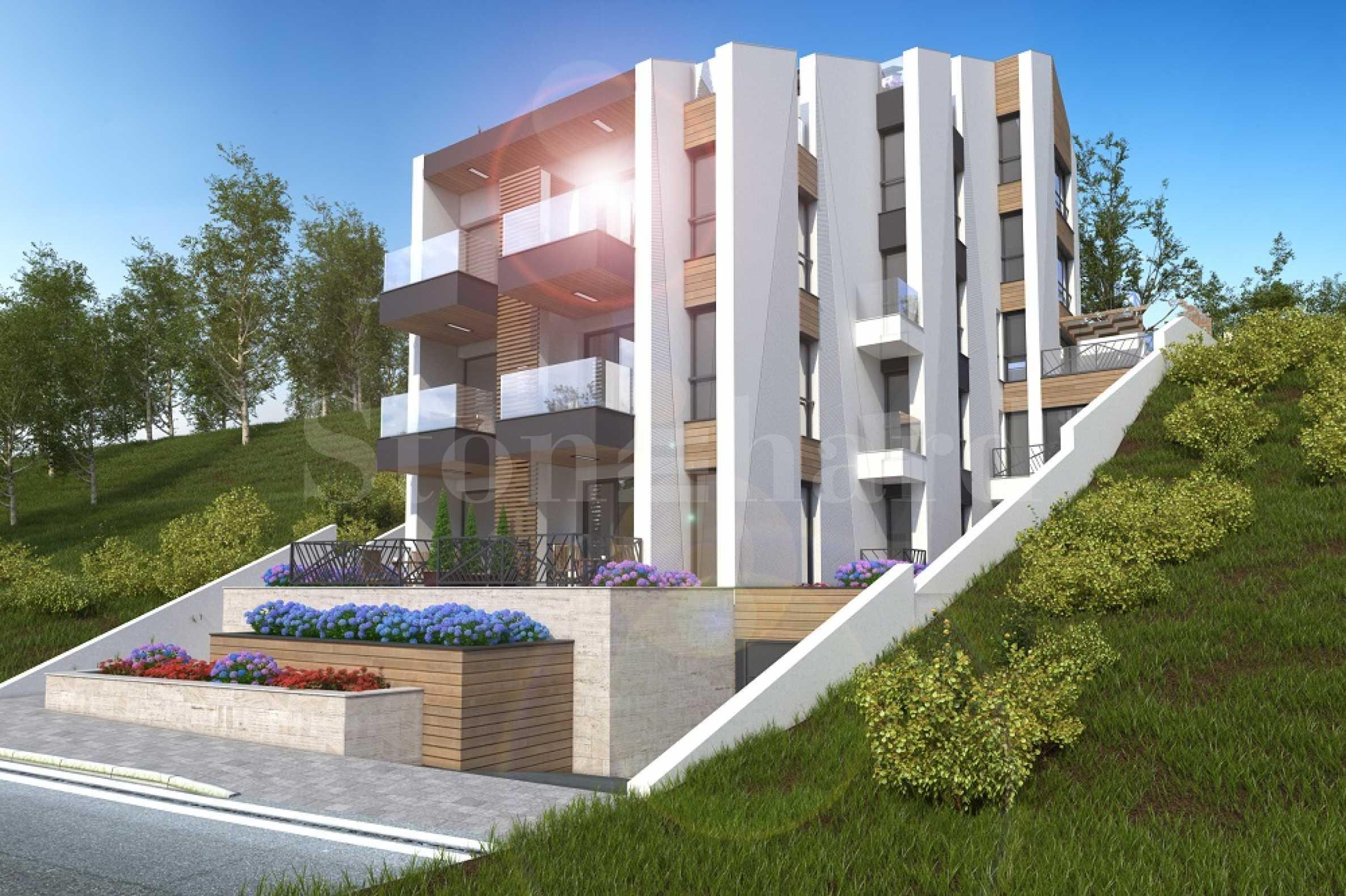 Turn-key apartments with sea view near Marina Port Sozopol1 - Stonehard