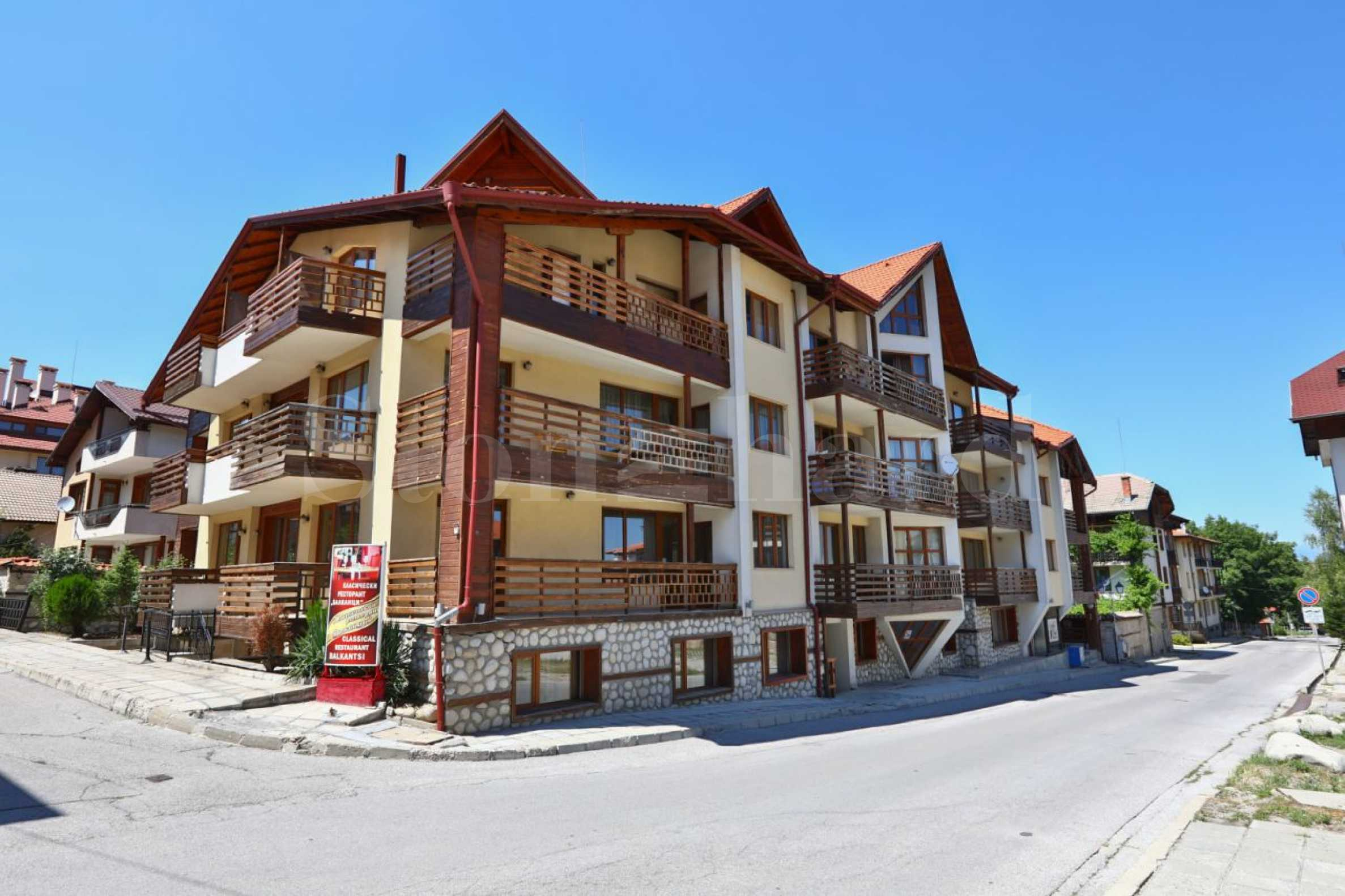 1-bedroom apartment in Bansko1 - Stonehard